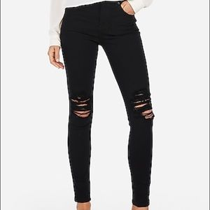 Express High Waisted Skinny Jeans ✨